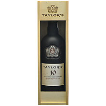 Buy Taylor's 10 Year Tawny Port, 75cl Online at johnlewis.com