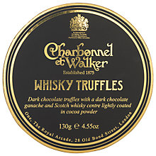 Buy Charbonnel et Walker, Whisky Truffle, 130g Online at johnlewis.com
