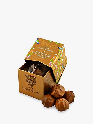 Holdsworth's Gold Mini Cube Salted Caramel Truffles