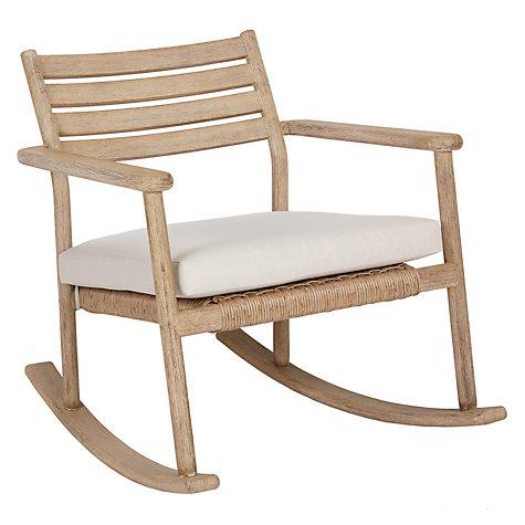 Buy John Lewis Croft Collection Islay Garden Rocking Chair Online at  johnlewis com. Buy John Lewis Croft Collection Islay Garden Rocking Chair   John