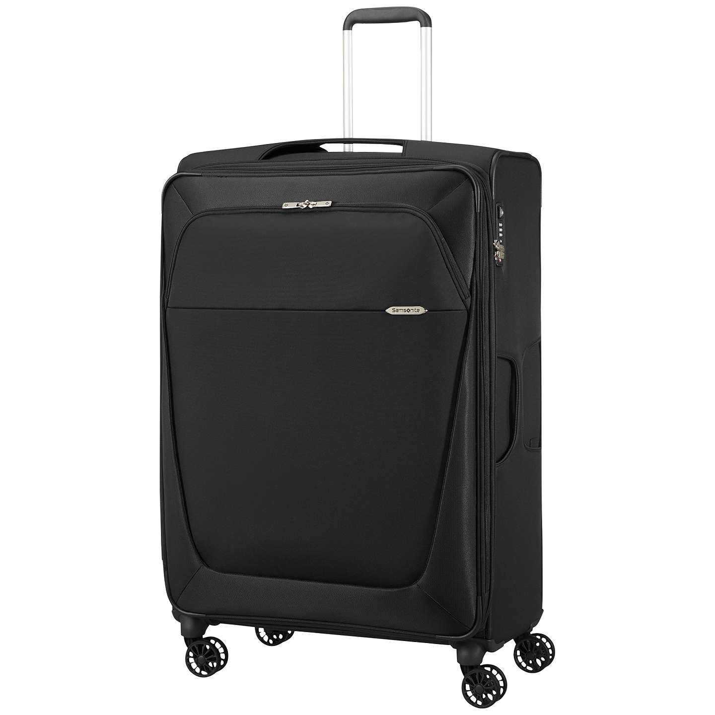 BuySamsonite B-Lite 3 4-Wheel 83cm Large Suitcase, Black Online at johnlewis.com