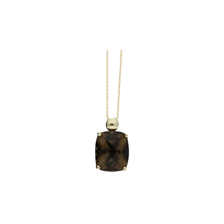 London road 9ct gold smoky quartz pendant necklace gold at john lewis buylondon road 9ct gold smoky quartz pendant necklace gold online at johnlewis aloadofball Image collections