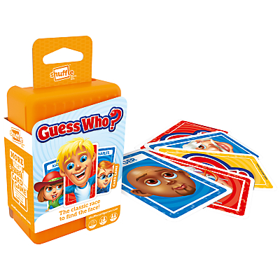 Image of Guess Who? Shuffle Card Game