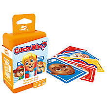 Buy Guess Who? Shuffle Card Game Online at johnlewis.com