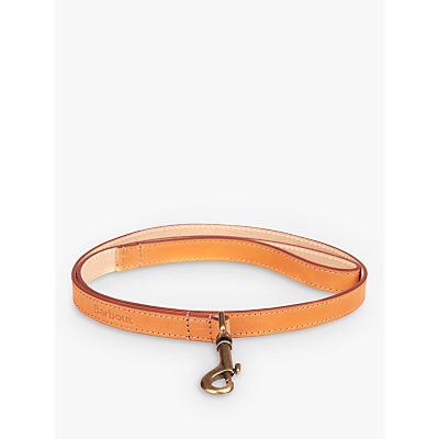 Barbour Leather Dog Lead, Tan
