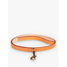 Buy Barbour Leather Dog Lead, Tan Online at johnlewis.com