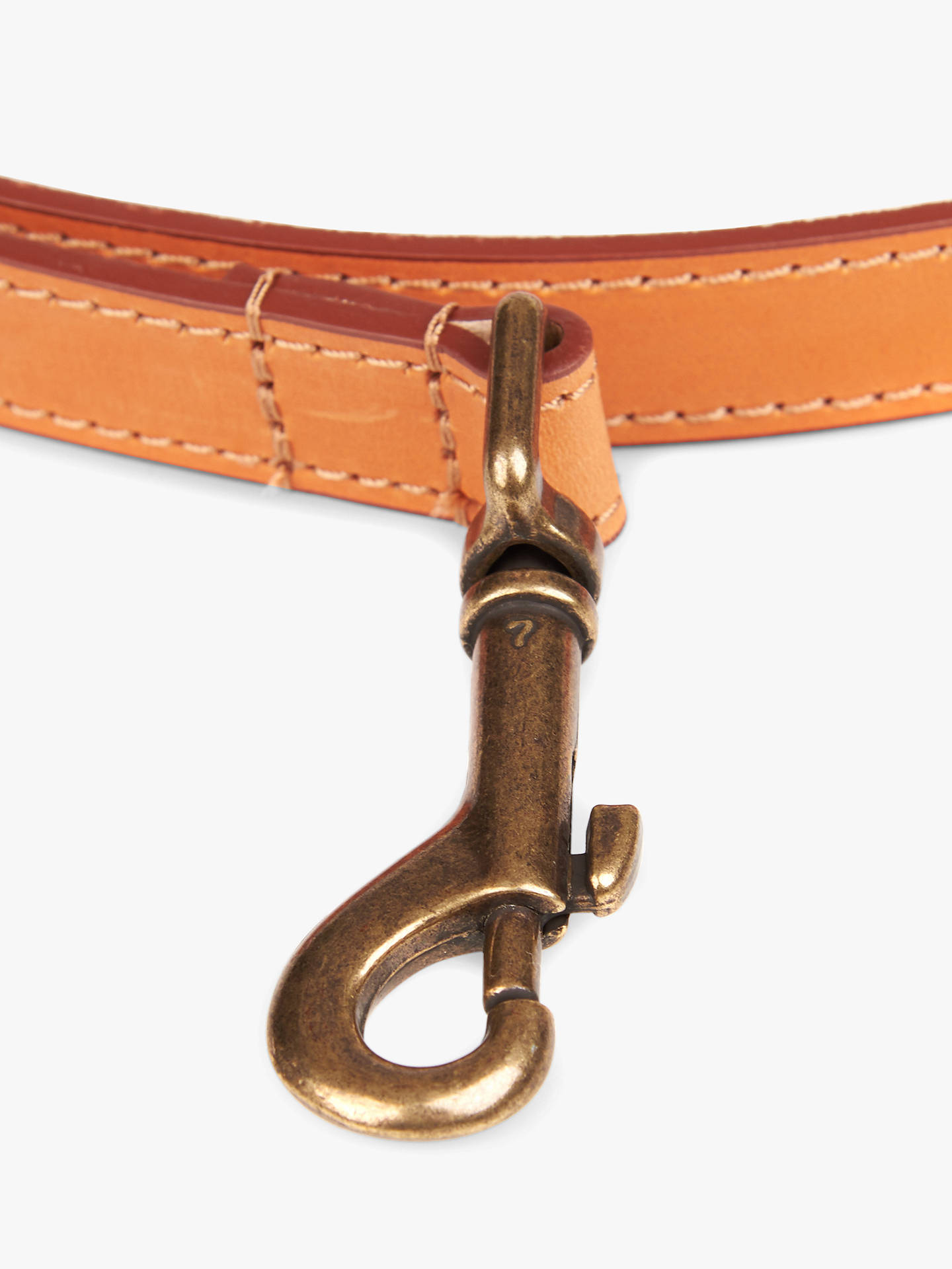 BuyBarbour Leather Dog Lead, Tan Online at johnlewis.com