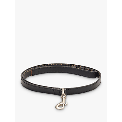 Image of Barbour Leather Dog Lead, Black