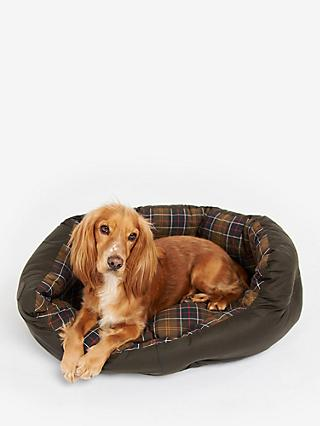 Barbour Wax/Cotton Dog Bed 35""