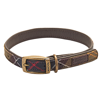 Image of Barbour Tartan Dog Collar