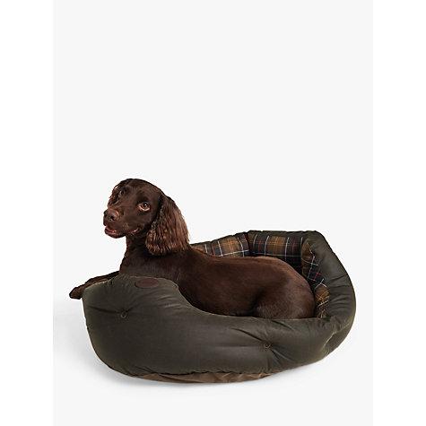 Buy Barbour Tartan Quilted Dog Bed John Lewis