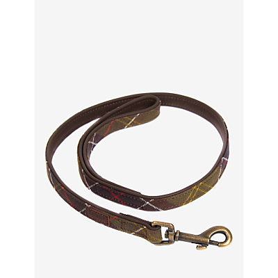 Image of Barbour Tartan Dog Lead