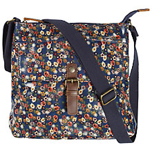 Buy Fat Face Rosie Ditsy Cross Body Bag, Navy Online at johnlewis.com