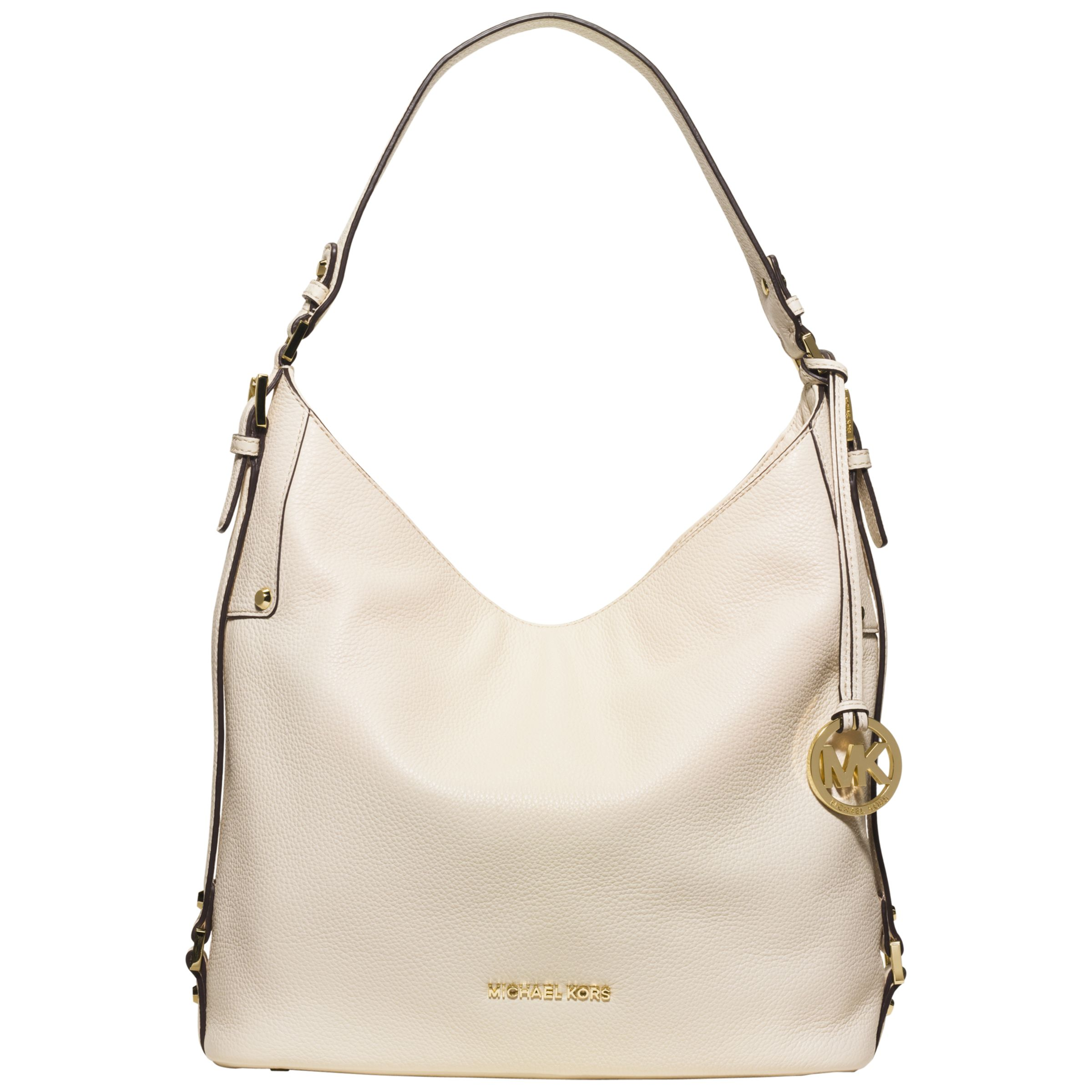 0f49eb364617a9 MICHAEL Michael Kors Bedford Belted Large Leather Shoulder Bag at John  Lewis & Partners