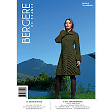 Buy Bergere De France Magic+ Women's Long Jacket Knitting Pattern, 33640 Online at johnlewis.com
