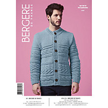 Buy Bergere De France Magic+ Men's Cardigan Knitting Pattern, 70516 Online at johnlewis.com