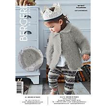 Buy Bergere De France Plume Baby's Cardigan Knitting Pattern, 70547 Online at johnlewis.com