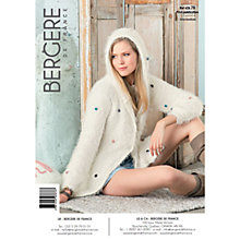 Buy Bergere De France Plume Women's Hooded Cardigan Knitting Pattern, 42878 Online at johnlewis.com