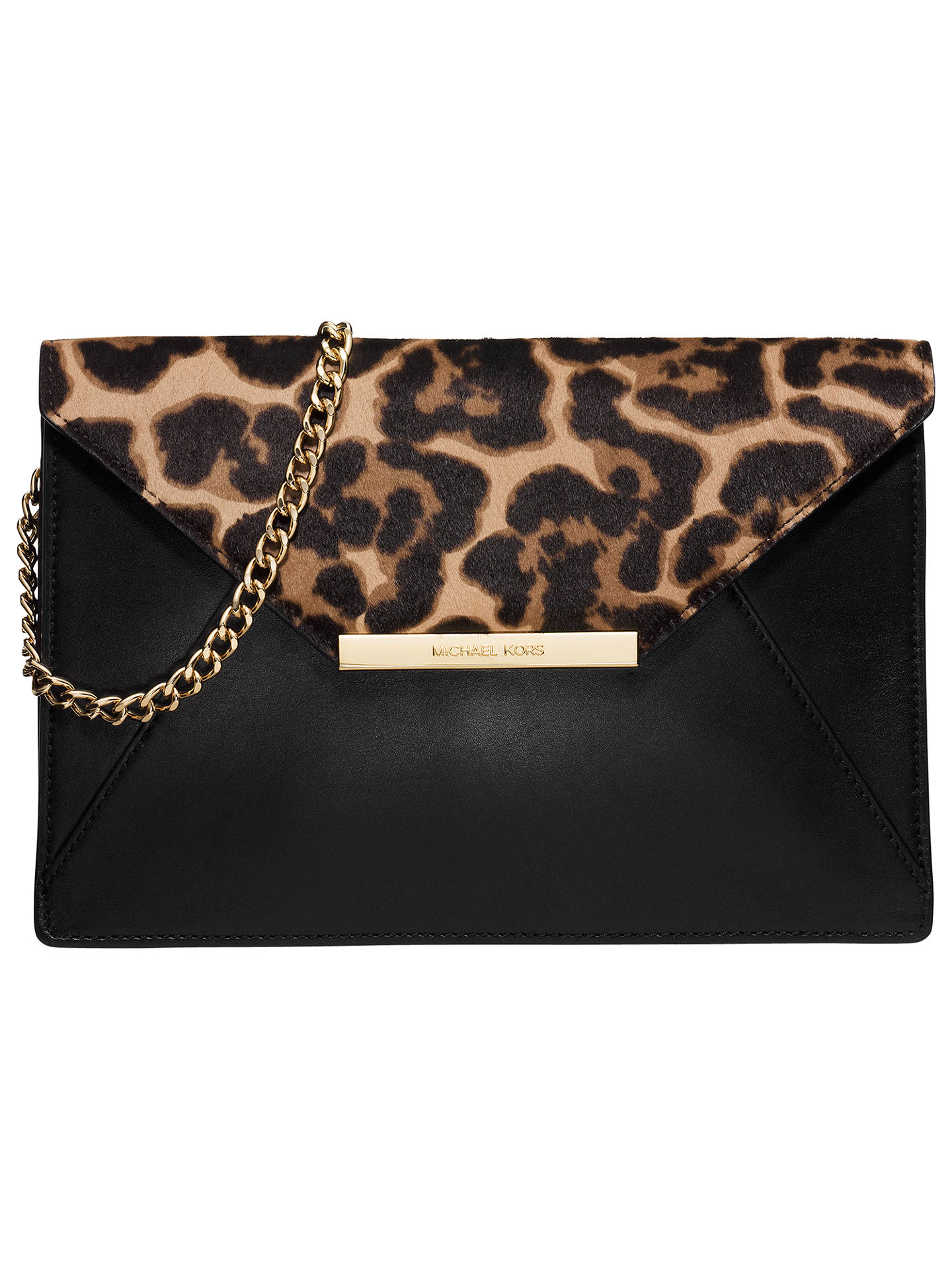 5987deb231d85c BuyMICHAEL Michael Kors Lana Envelope Clutch, Multi Online at johnlewis.com  ...