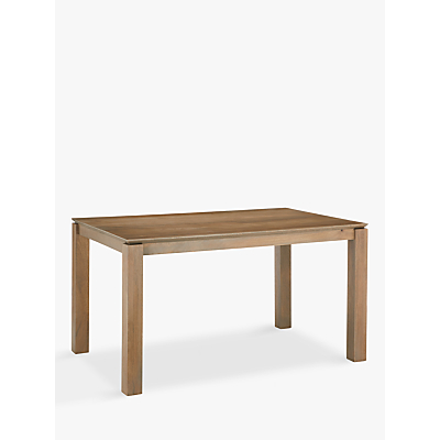 John Lewis & Partners Asha Wooden 6 Seater Dining Table, Grey