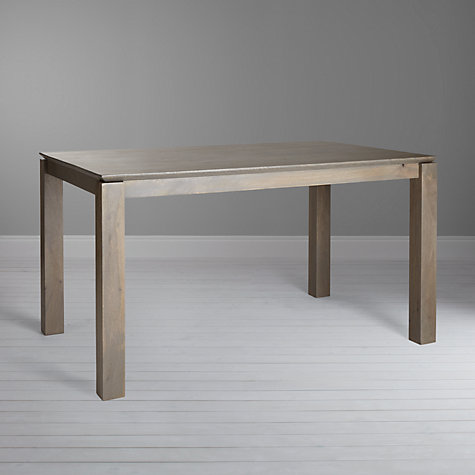 Buy John Lewis Asha Wooden 4 6 Seater Dining Table Online At Johnlewis