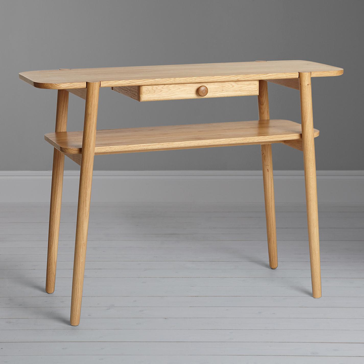 Buy Design Project by John Lewis No.022 Console Table, Oak | John ...