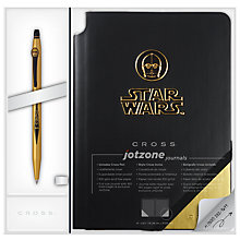 Buy Cross Star Wars C-3PO Click Pen With Journal Online at johnlewis.com