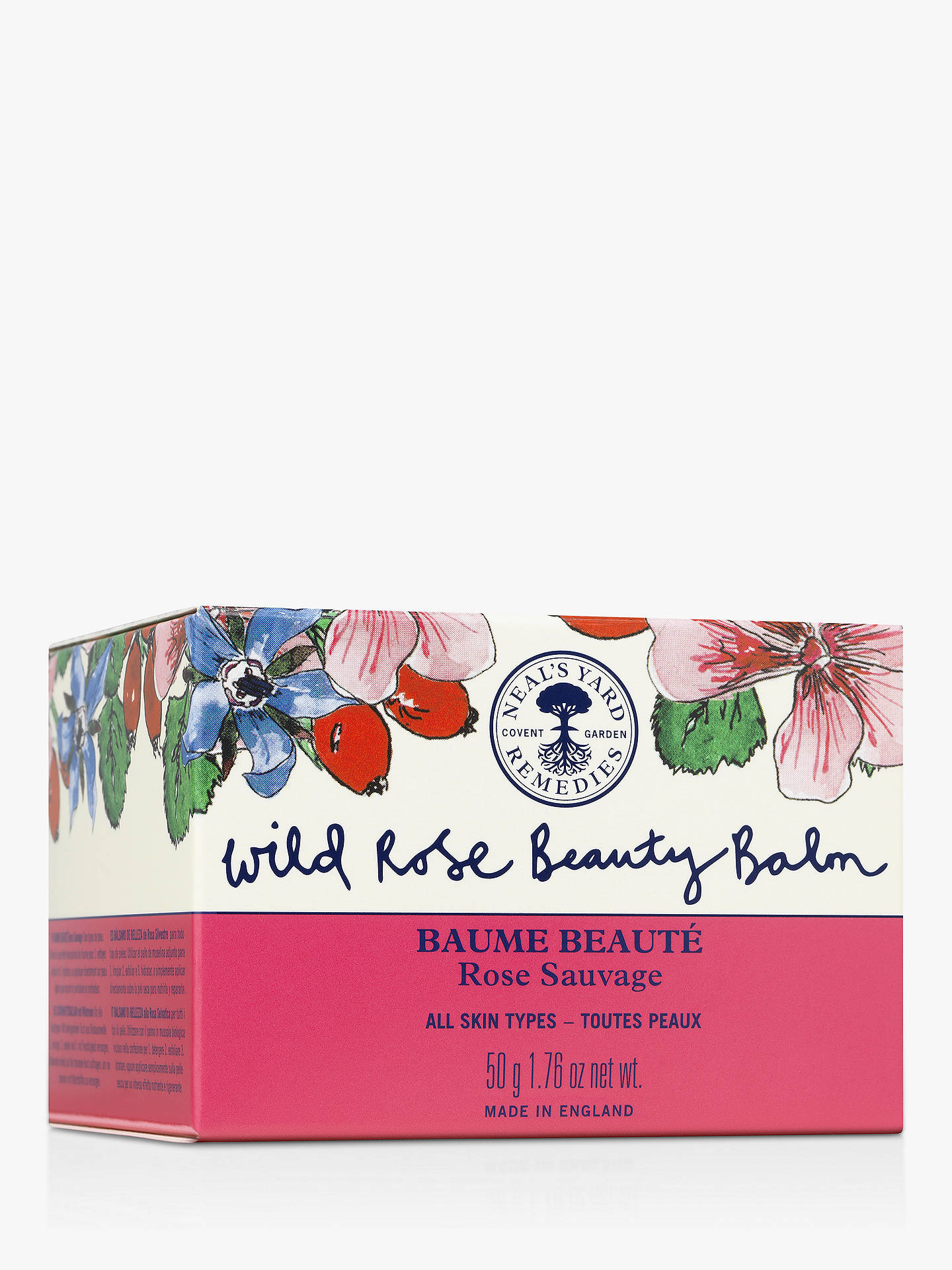 Buy Neal's Yard Remedies 10 Year Wild Rose Beauty Balm, 50g Online at johnlewis.com