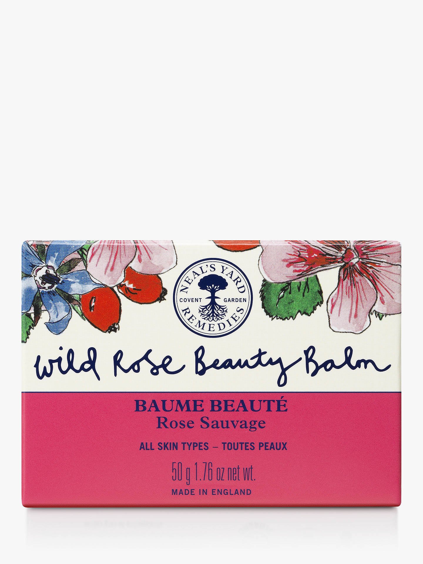 BuyNeal's Yard Remedies 10 Year Wild Rose Beauty Balm, 50g Online at johnlewis.com