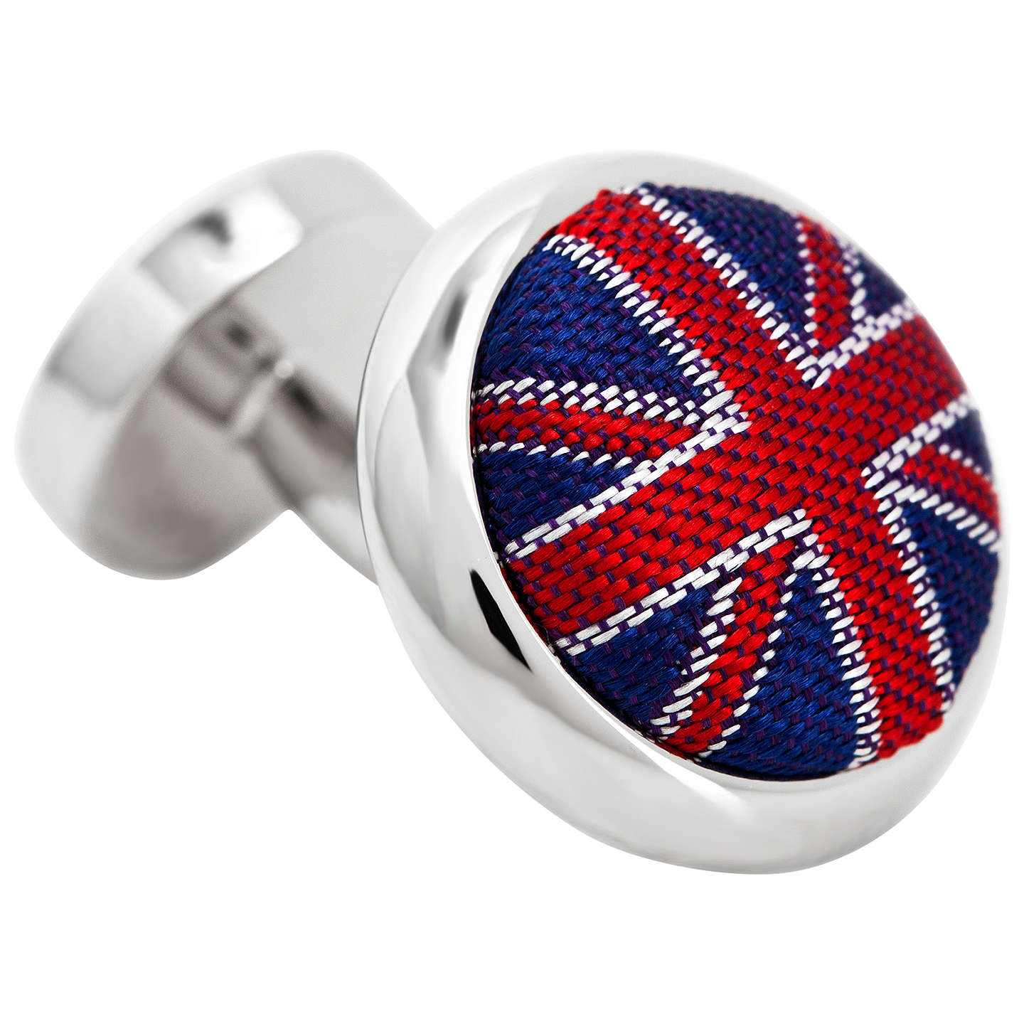 Buythomas Pink Union Jack Cufflinks, Navyred Online At Johnlewiscom