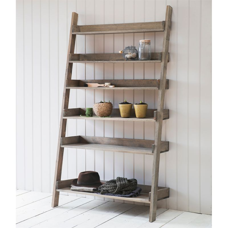 Garden Trading Garden Trading Aldsworth Wide Spruce Wood Shelf Ladder, Natural