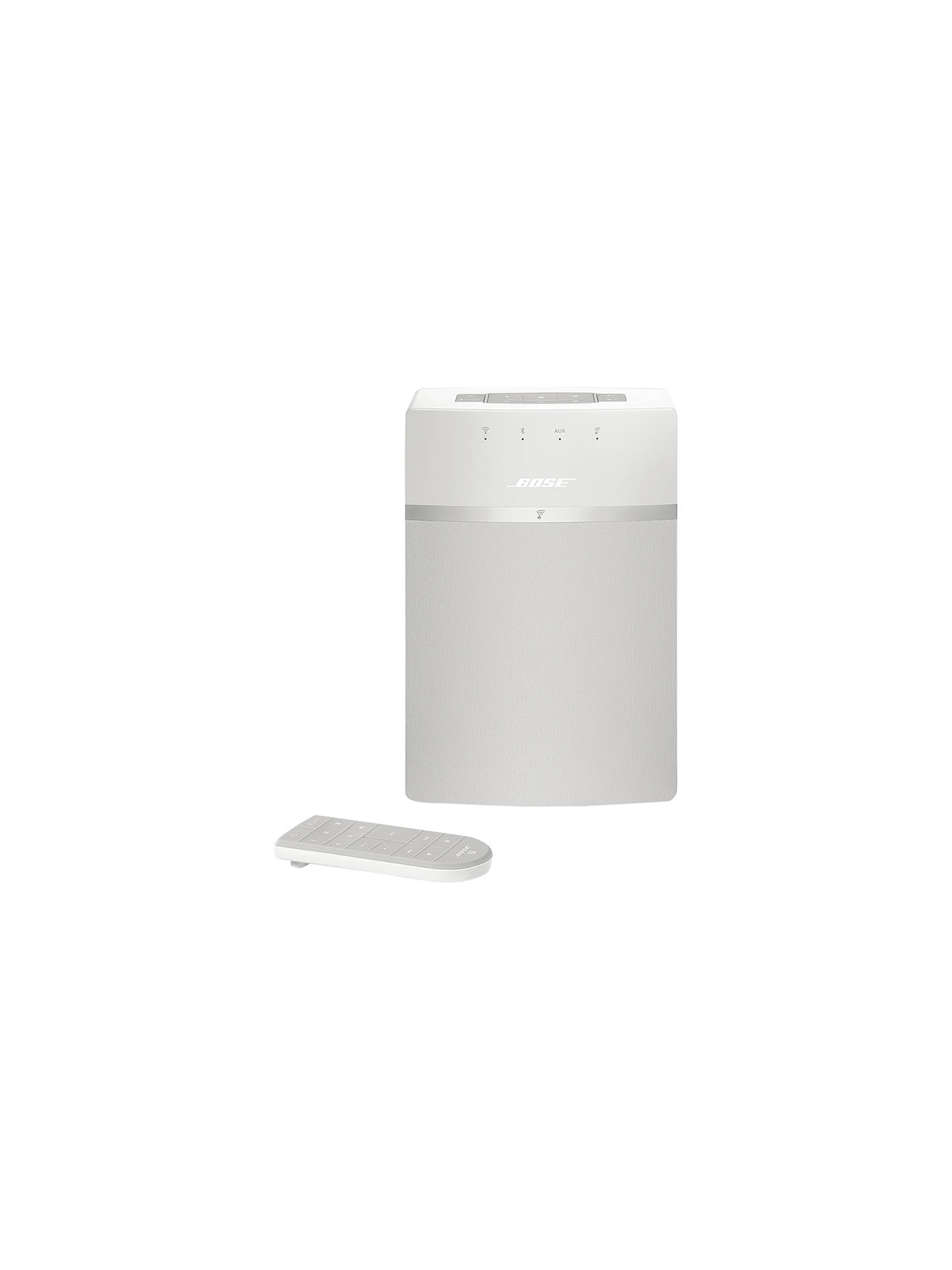 Buy Bose® SoundTouch™ 10 Wireless Wi-Fi Bluetooth Music System, White Online at johnlewis.com