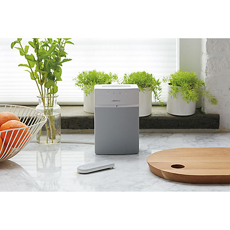 bose soundtouch 10. buy bose® soundtouch™ 10 wireless wi-fi bluetooth music system online at johnlewis bose soundtouch
