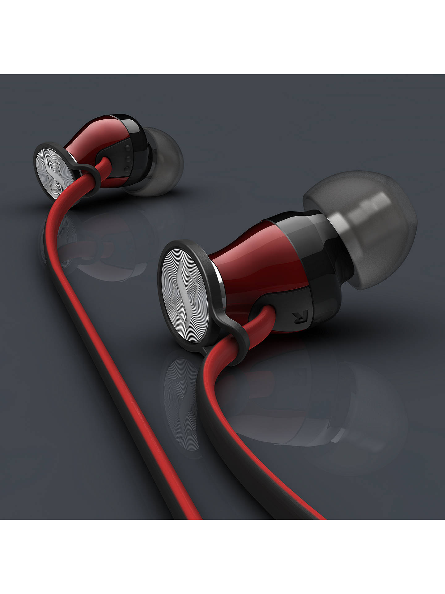 BuySennheiser MOMENTUM I In-Ear Headphones with Mic/Remote for iOS Devices, Black/Red Online at johnlewis.com