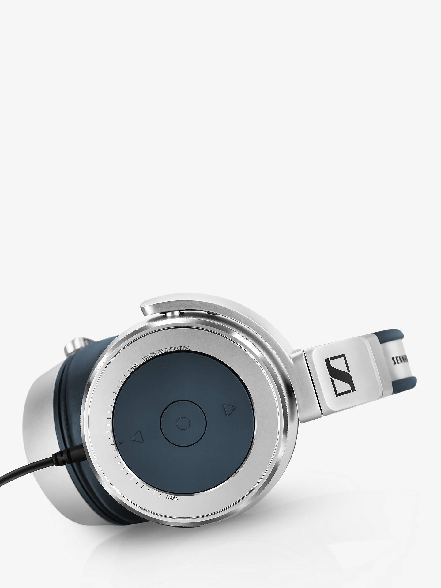 BuySennheiser HD 630VB Full-Size Headphones with Ear Cup Control Functions and In-Line Microphone, Silver/Black Online at johnlewis.com