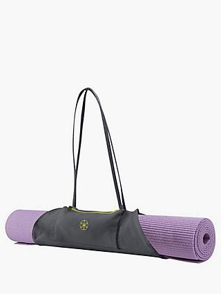 Gaiam On-The-Go Yoga Mat Carrier, Grey/Citron