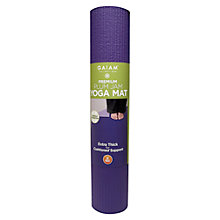 Buy Gaiam Premium Yoga Mat, Plum Jam Online at johnlewis.com