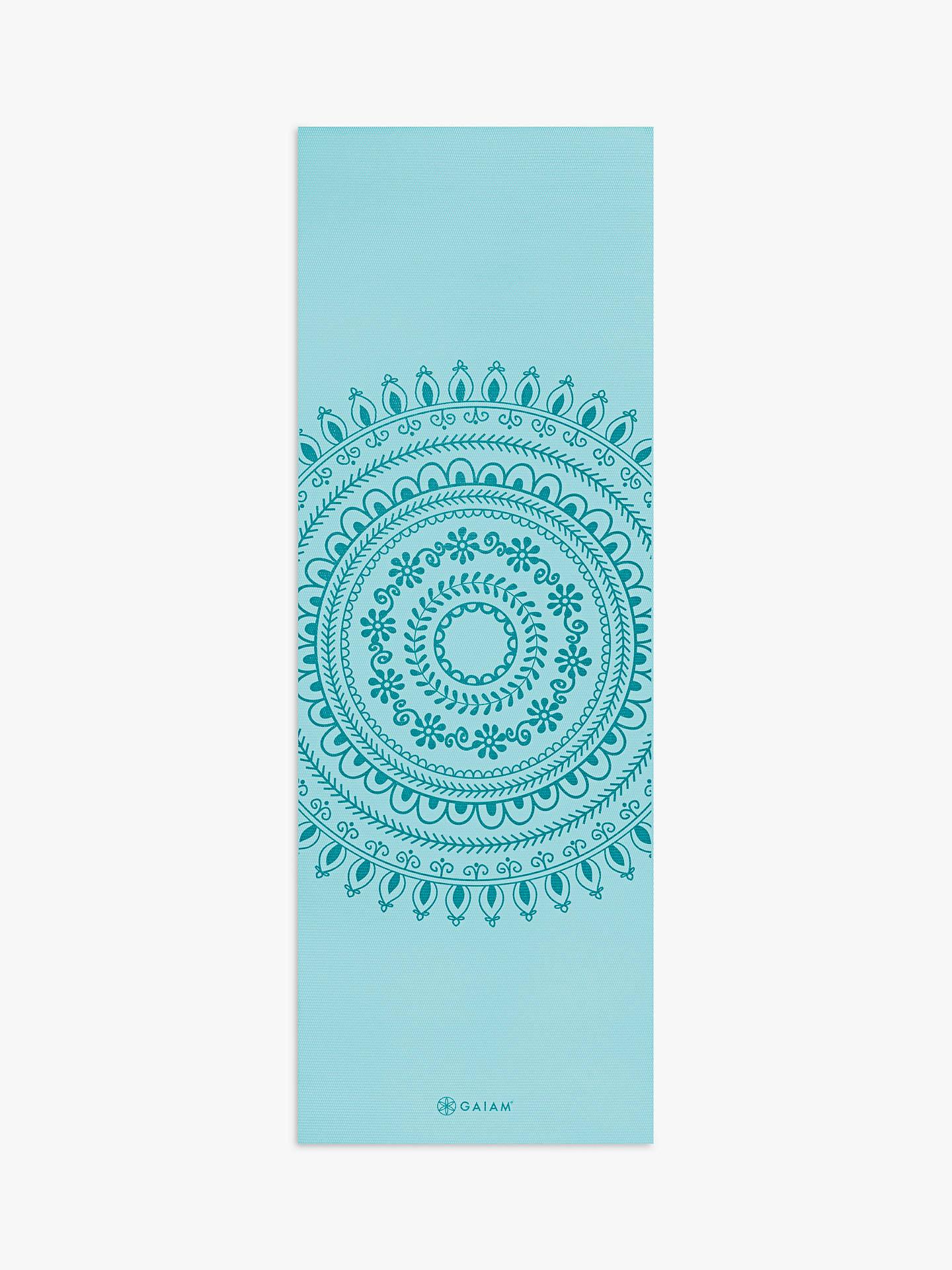 Gaiam Premium 5mm Yoga Mat Marrakesh At John Lewis Partners