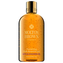 Buy Molton Brown Mesmerising Oudh Accord & Gold Bath & Shower Gel, 300ml Online at johnlewis.com
