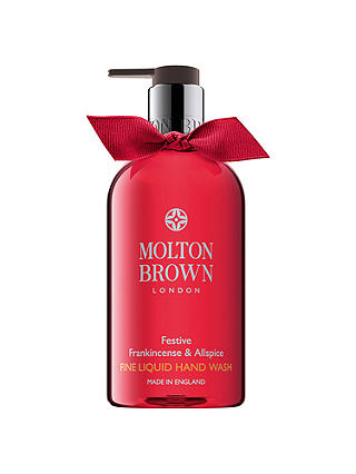 Buy Molton Brown Festive Frankincense & Allspice Fine Liquid Handwash, 300ml Online at johnlewis.com