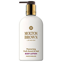 Buy Molton Brown Mesmerising Oudh Accord & Gold Body Lotion, 300ml Online at johnlewis.com