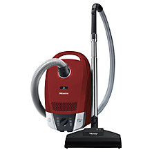 Buy Miele Compact C2 Cat & Dog Powerline Vacuum Cleaner, Red Online at johnlewis.com
