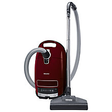 Buy Miele Complete C3 Cat & Dog PowerLine Vacuum Cleaner with EcoTeQ Floorhead, Cherry Red Online at johnlewis.com