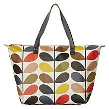 Buy Orla Kiely Classic Multi Stem Zip Shoulder Bag, Multi Online at johnlewis.com