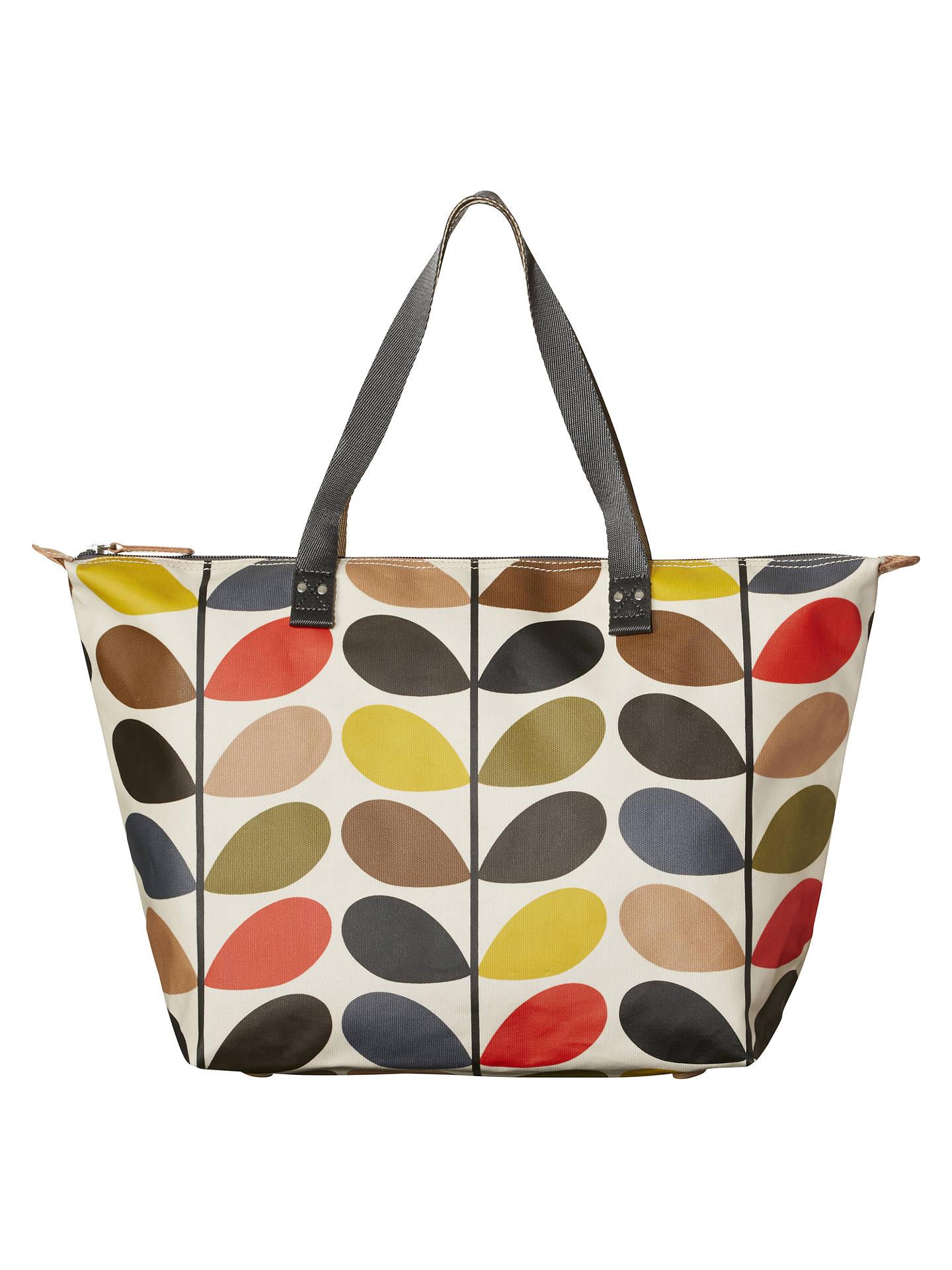 4bdbaa696 Buy Orla Kiely Classic Multi Stem Zip Shoulder Bag, Multi Online at  johnlewis.com ...