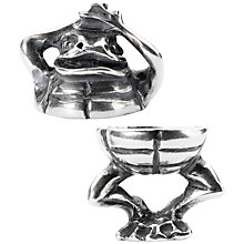 Buy Trollbeads Sterling Silver Fantasy Frog Pendant Online at johnlewis.com