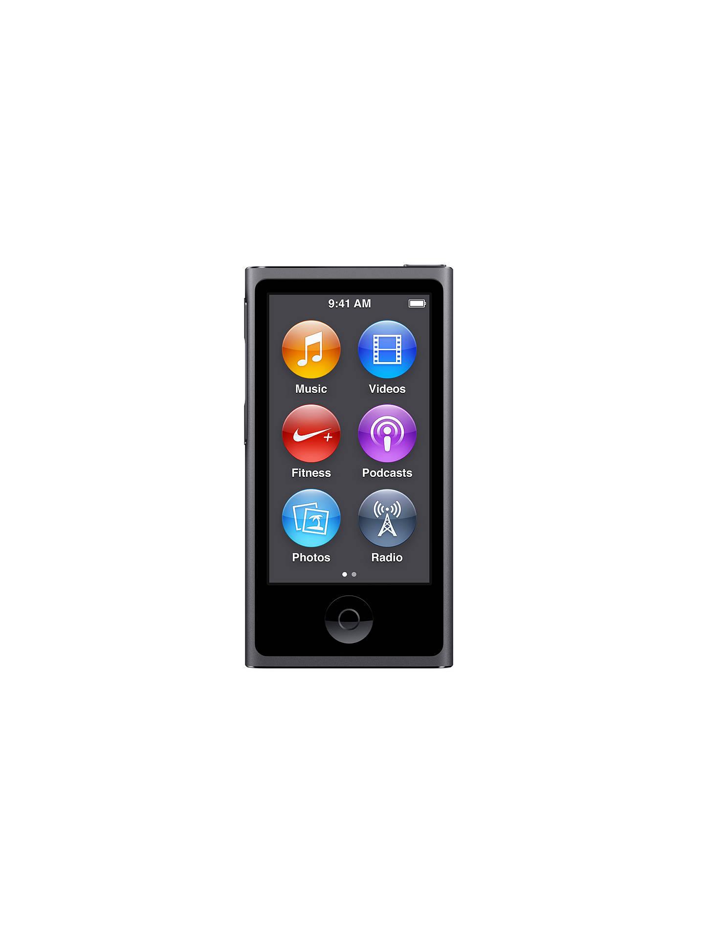 offer apple ipod nano 16gb at john lewis partners. Black Bedroom Furniture Sets. Home Design Ideas