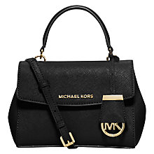 Buy MICHAEL Michael Kors Ava Leather Extra Small Cross Body Bag Online at johnlewis.com