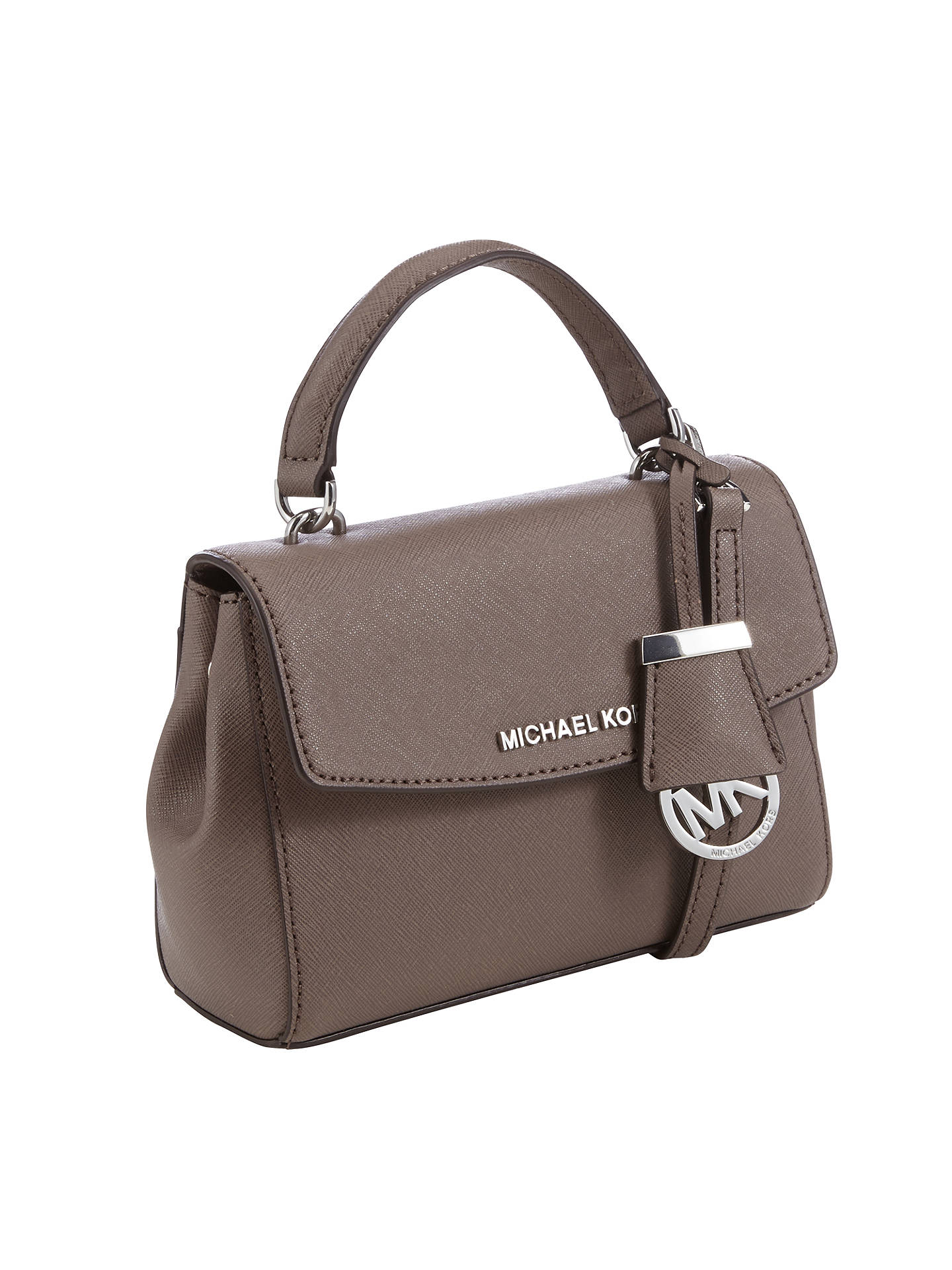 55e0bba9896d ... Buy MICHAEL Michael Kors Ava Extra Small Across Body, Taupe Online at  johnlewis.com ...