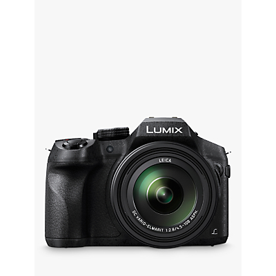 Panasonic DMC-FZ330EBK Bridge Camera with 25-600mm LEICA Lens, 4K Ultra HD, 12MP, 24x Optical Zoom, 4x Digital Zoom, Wi-Fi, OLED Live Viewfinder, 3 Vari-angle Touch Screen, Splash & Dustproof